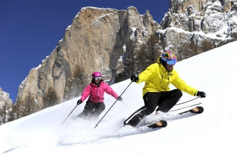 Perfect ski holidays in the Dolomites
