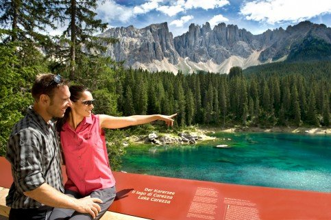 Summer holidays in the Dolomites - Hiking paradise Catinaccio - Latemar